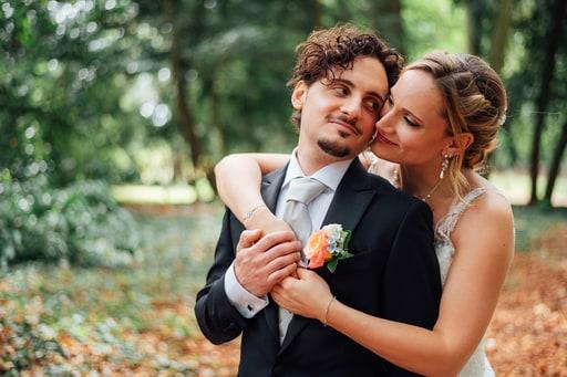 Mariée surprend son marie