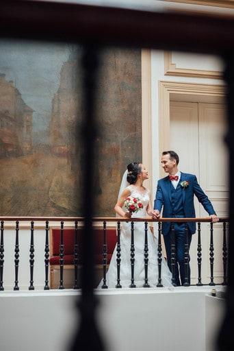 Couple après la mairie
