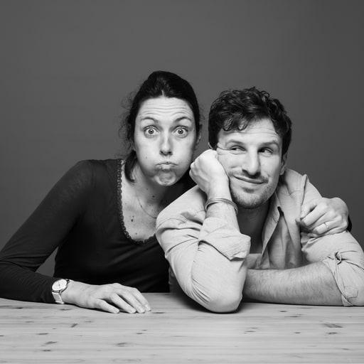 portrait de Mathilde et Jean-Baptiste