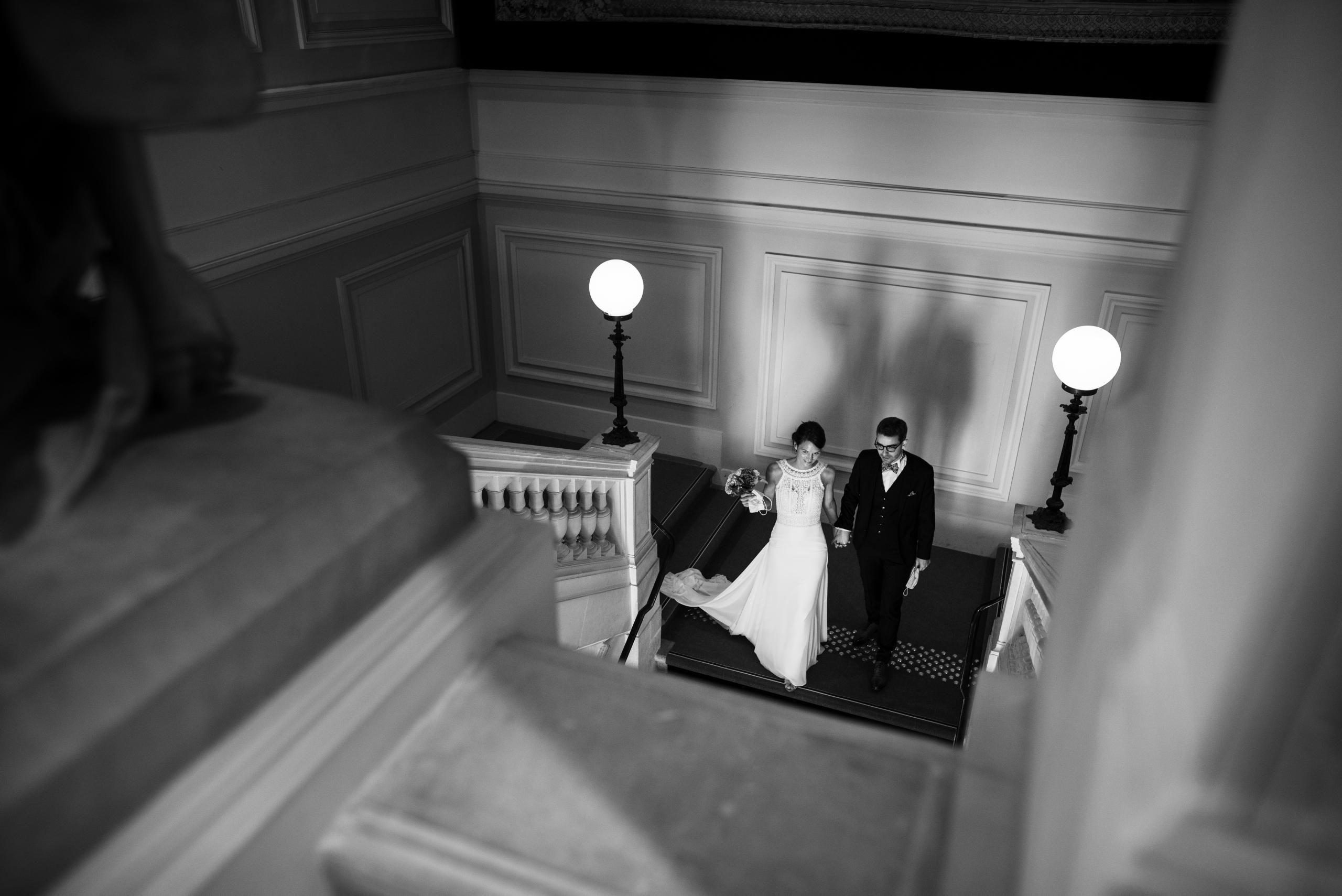 couple à la mairie d'Angers